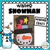 Winter Snowman Craft, Class Books and Writing Activities
