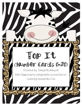 Top It 0-30 Animal Themed