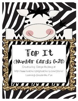 Top It 0-30 Animal Themed