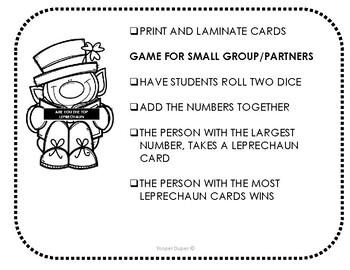 Top Leprechaun Math Game