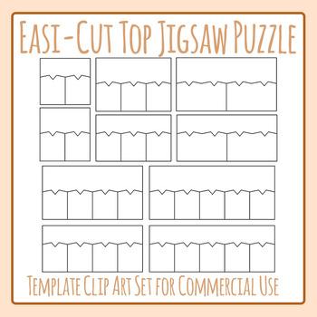 Top Matching Easi-Cut Jigsaw Puzzle Template Clip Art Comm