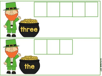 Top O' The Morning Sight Words