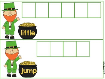 Shamrock Top O' The Morning Sight Words (March)