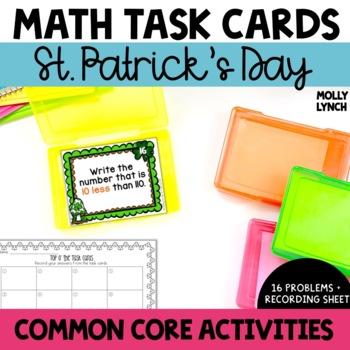 St. Patrick's Day Task Cards