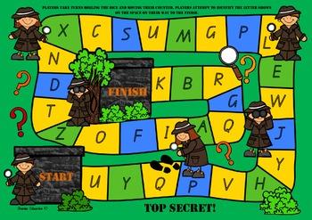 Top Secret – Capital Letter Recognition Board Game