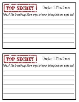 "Top Secret, by John Reynolds Gardiner: ""What if…?"" Reading Response Journal"