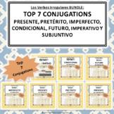 Top Seven Conjugations Bundle: tener Google Slides™ Conjug
