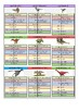 Top Shot DINOSAURS 2018 Cards full of Facts and Statistics