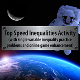 Top Speed Inequalities Game - Instruction, Practice, and R