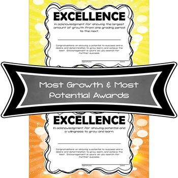 Quarter Awards - Grading Period Certificates