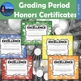 Quarter Awards - Grading Period Certificates
