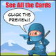 Addition Game for Addition Facts Practice... with Lots of Ninjas!!!
