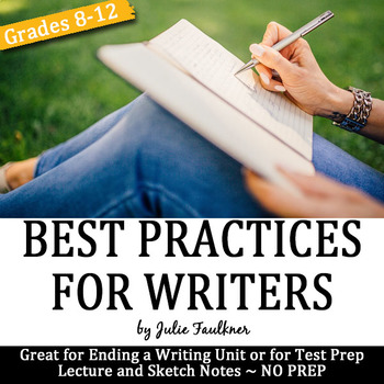 Top Ten Best Writing Practices, Lesson