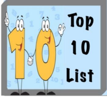 Top Ten List for Parents