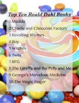 Top Ten Roald Dahl Books