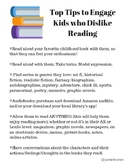 Top Tips to Engage Kids who Dislike Reading