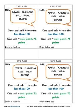 Top Trumps Supervillain Cards - Challenge
