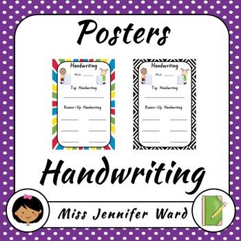Handwriting Poster