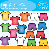 Top and Shorts - Clipart for Teaching Resources