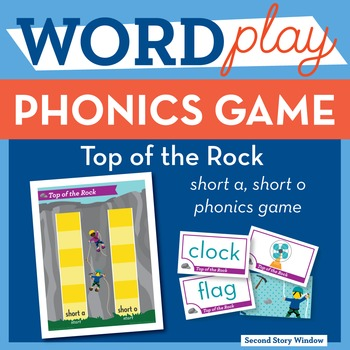 Top of the Rock Short Vowel Phonics Game