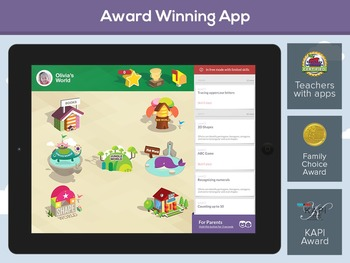 TopIQ Academy: Math, Reading & Writing for Preschool, Kindergarten & 1st Grade