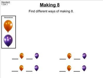 Topic 1 - Envision Math (Common Core) - 1st Grade