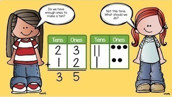Two-Digit Addition Common Core Math Lesson BUNDLE