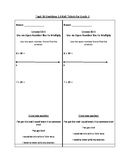 Topic 10 Envisions 2.0 Exit Tickets for Grade 3