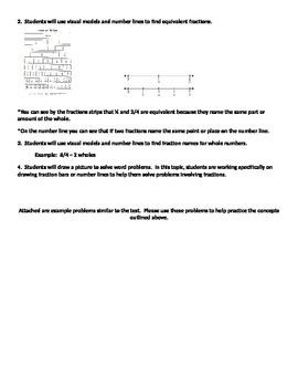 Topic 10 Fraction Envision Math Study Guide