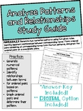 Topic 15: Analyze Patterns and Relationships Study Guide