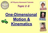 Topic 2-B Physics Homework Tutorial Vodcasts
