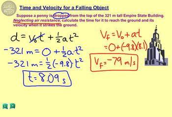 Topic 2-C Physics Homework Tutorial Vodcasts