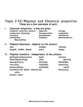 Topic 2 CC Chart matter