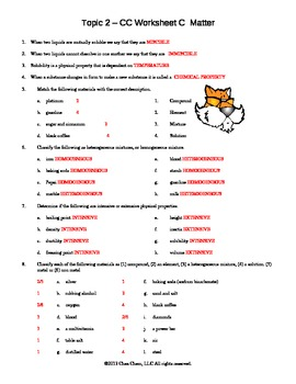 Topic 2 CC Worksheet C answers