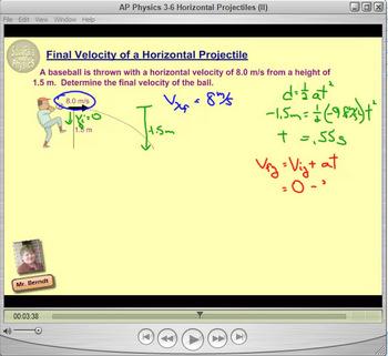 Topic 3-B Physics Homework Tutorial Vodcasts