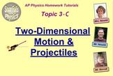 Topic 3-C Physics Homework Tutorial Vodcasts