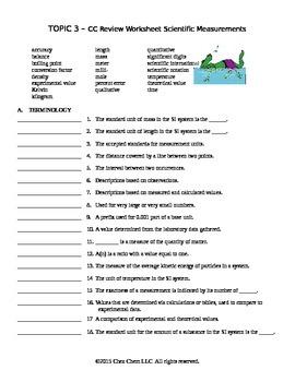 Topic 3 CC Review Worksheet