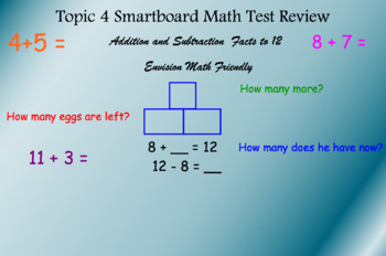 Topic 4 Math Smartboard Test Review Envision Friendly