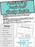 Topic 4: Multiplying Decimals