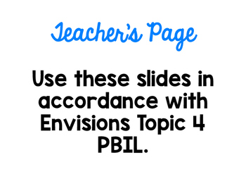 Topic 4 PBIL Slides adapted from Envisions