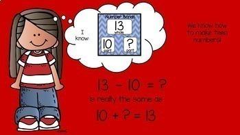Subtraction From 20 Common Core Math Lesson BUNDLE