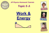 Topic 5-A Physics Homework Tutorial Vodcasts