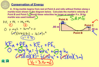 Topic 5-B Physics Homework Tutorial Vodcasts
