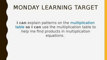 Topic 5- Fluently Multiply and Divide within 100
