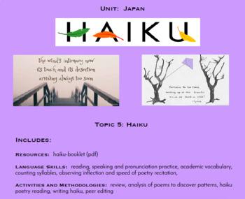Topic 5, Haiku (Japanese Culture Unit)