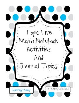 Topic 5 Math Notebook Activities