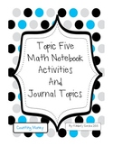 Topic 5 Math Notebook Activities