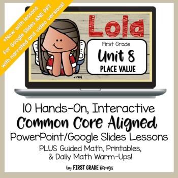 Place Value Common Core Math Lesson BUNDLE (First Grade)