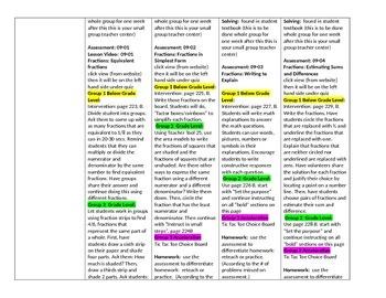Topic 9 Envision lesson plans