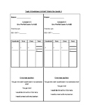 Topic 9 Envisions 2.0 Exit Tickets for Grade 3
